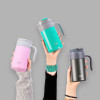 Aberdeen 20 ounce Vacuum Insulated Stainless Steel Tumbler, Lilac slideshow image 5