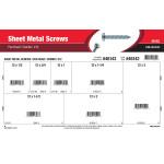 #12 Combo Pan-Head Sheet Metal Screws Assortment