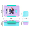 Disney Frozen 2 Movie Reusable Divided Bento Box, Elsa and Anna, 3-piece set slideshow image 6