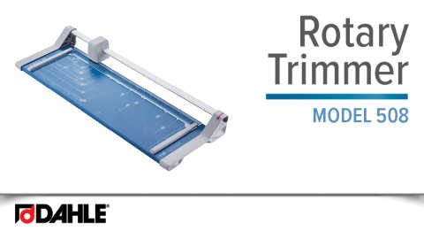 Dahle 508 Personal Rotary Trimmer Video