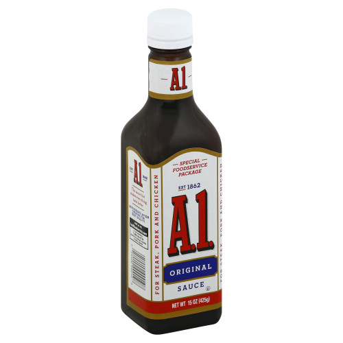 A.1. Steak Sauce, 15 oz. Bottles (Pack of 12)