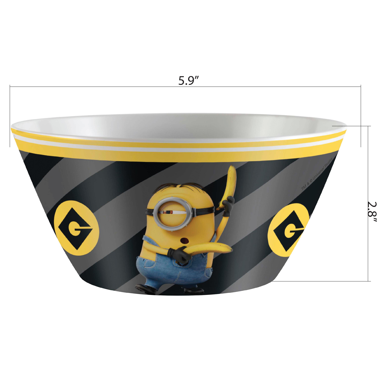 Despicable Me 3 27 ounce Kid's Soup Bowl, Kevin slideshow image 1