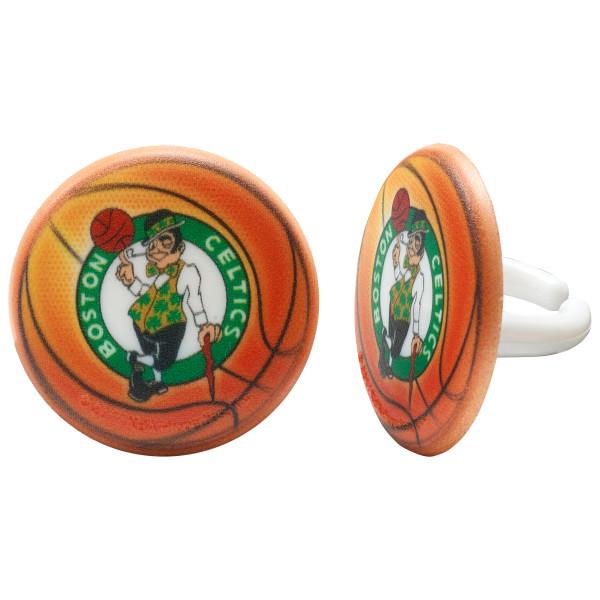 NBA Boston Celtics Cupcake Rings