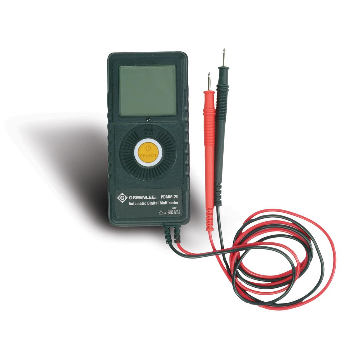Greenlee PDMM-20 Multimeter Pocket (Pdmm-20)