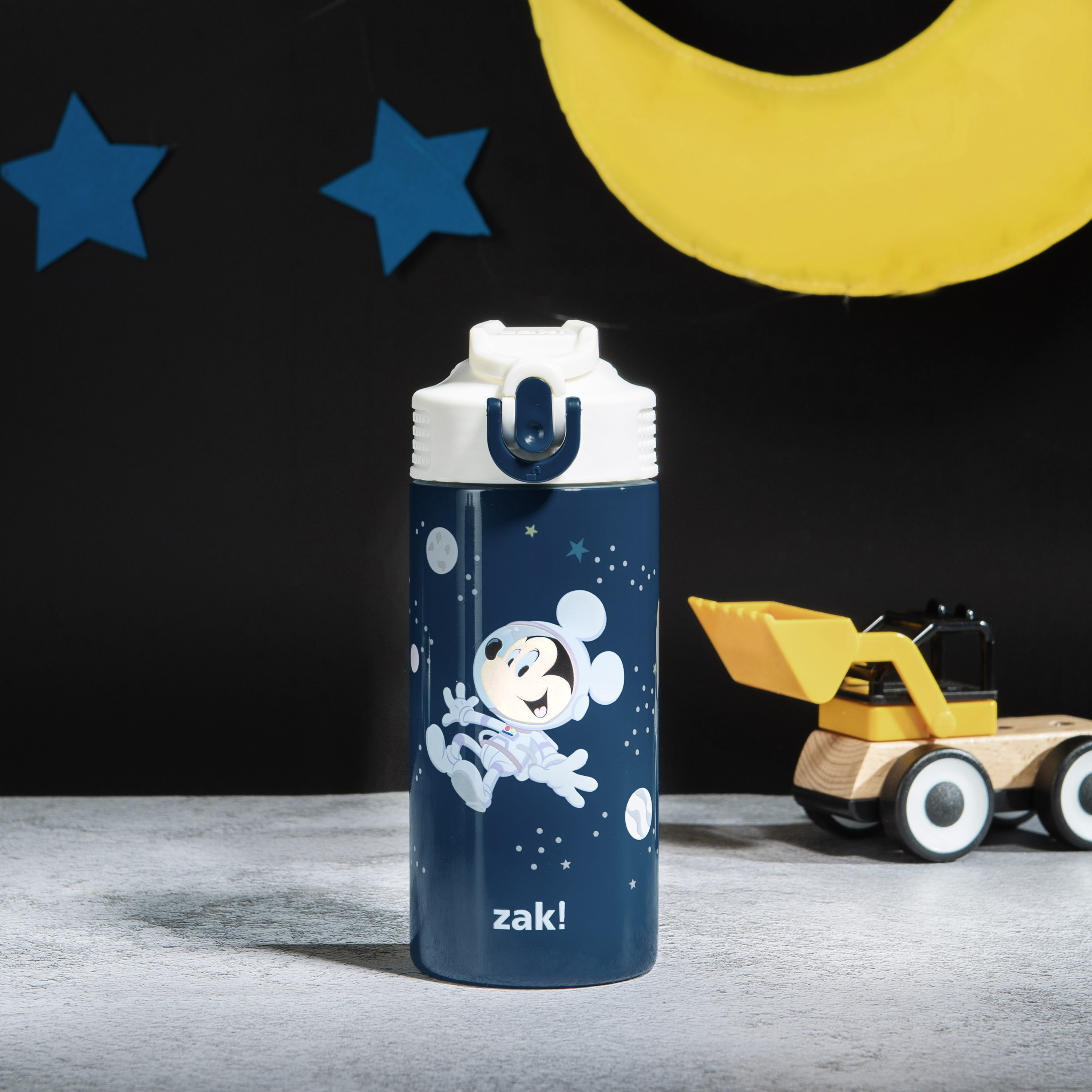 Disney 14 ounce Stainless Steel Vacuum Insulated Water Bottle, Mickey Mouse slideshow image 8