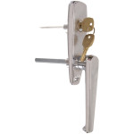 "Hardware Essentials ""L"" Handle Plus Lock Unit (Shaft = 5/16"" Square x 3-1/2"")"