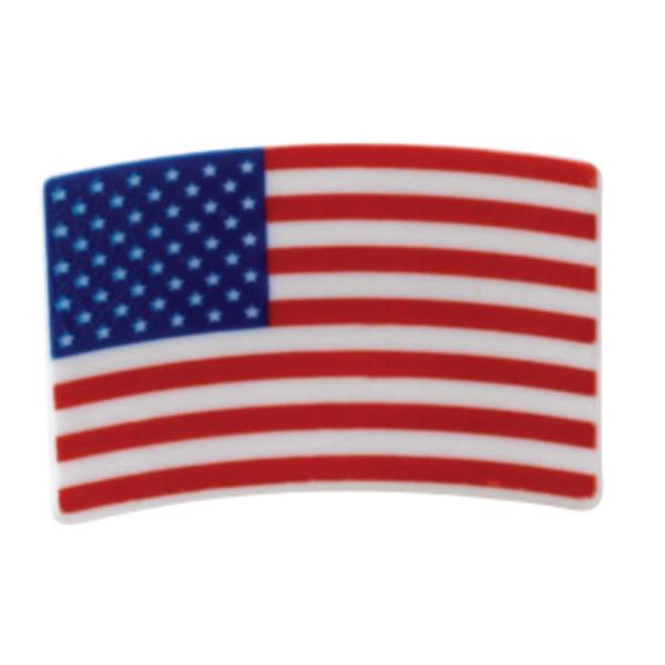 American Flag Cupcake Rings
