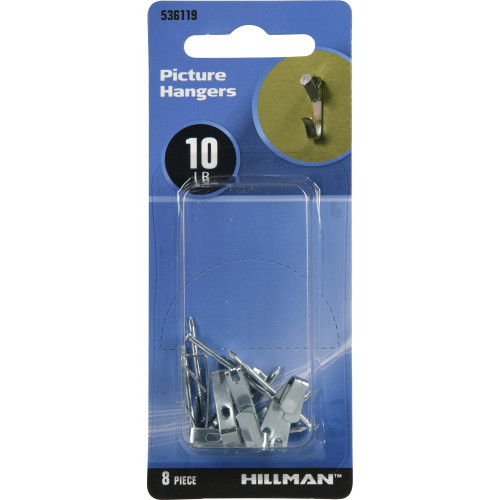 Hillman Conventional Picture Hangers (8-pack)