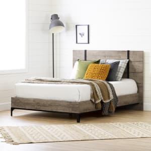 Valet - Platform Bed with Headboard