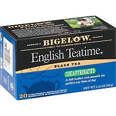 English Teatime Decaf- Case of 6 boxes- total of 120 teabags