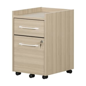 Helsy - 2-Drawer Mobile File Cabinet