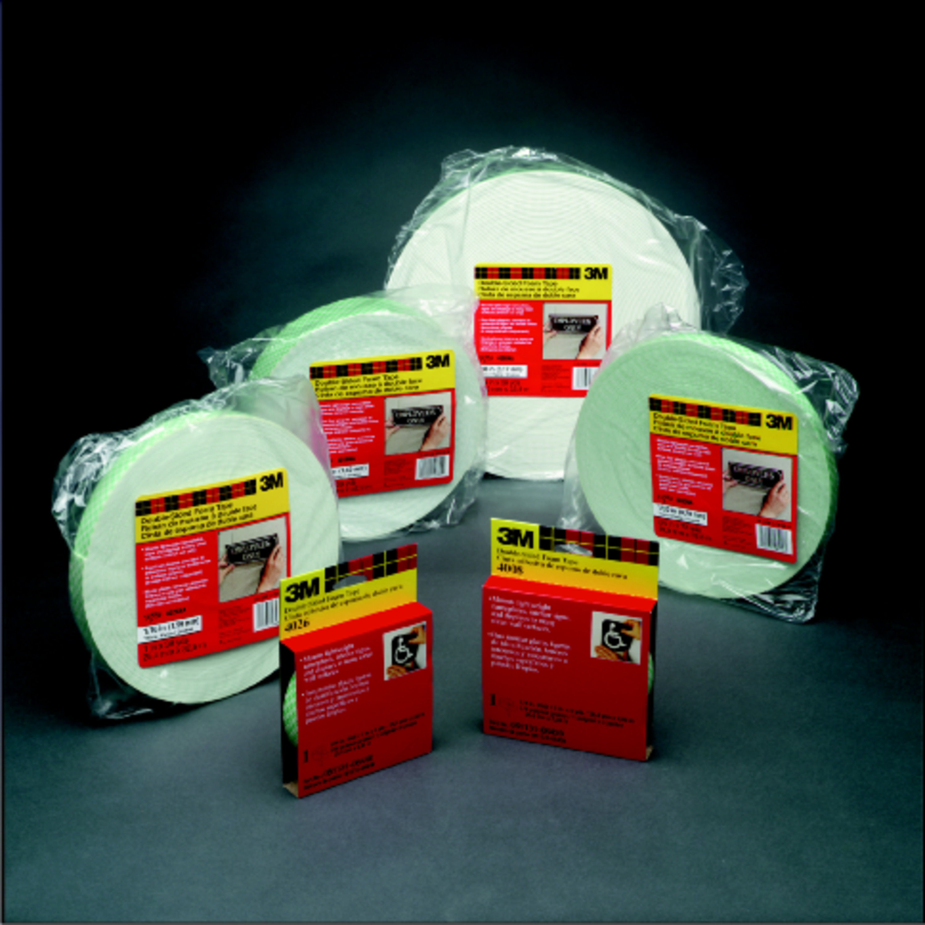 3M™ Double Coated Urethane Foam Tape 4004, Off White, 250 mil, Roll, Config