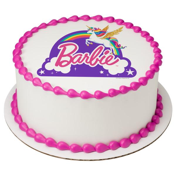Barbie™ Dreamtopia Just Believe PhotoCake® Edible Image®