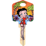 Betty Boop Tropical Island Key Blank