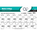 Nitrile Metric O-Ring Assortment (3mm Width)