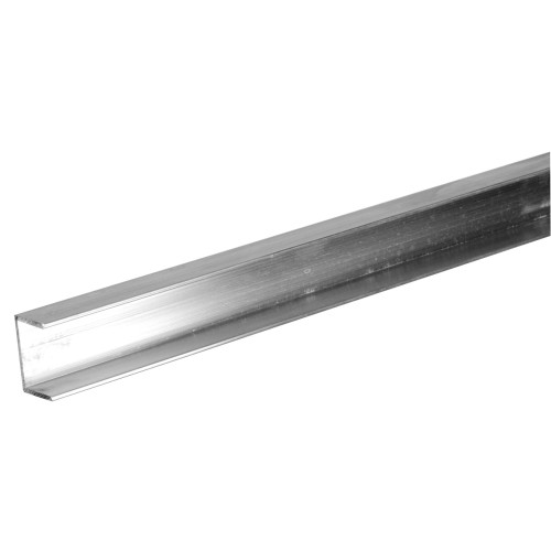 SteelWorks Aluminum Channel Plywood Trim (1/4
