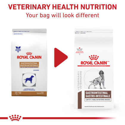 Royal Canin Veterinary Diet Canine Gastrointestinal Low Fat Dry Dog Food