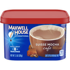 Maxwell House International Suisse Mocha Cafe Beverage Mix, 7.2 oz