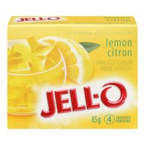 Jell-O Lemon Jelly Powder, Gelatin Mix
