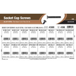 "Flat-Head Socket Cap Screws Assortment (#6-32 thru 3/8""-16 Thread)"