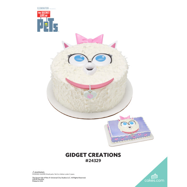 The Secret Life of Pets™ Gidget Creations DecoSet® The Magic of Cakes® Page