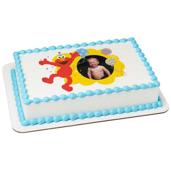 Sesame Street® Hooray For You PhotoCake® Edible Image® Frame