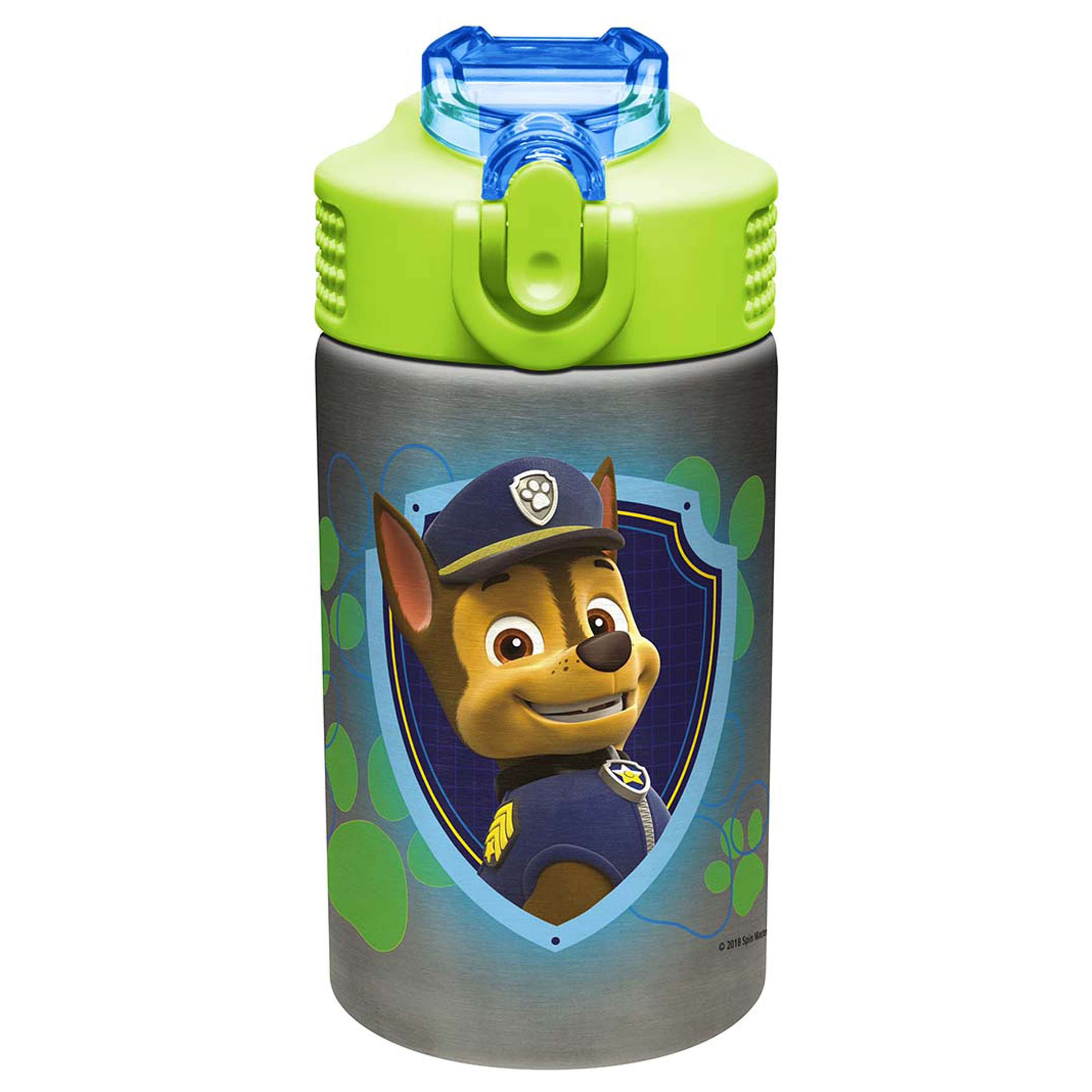 Paw Patrol 15.5 ounce Water Bottle, Chase and Marshall slideshow image 2