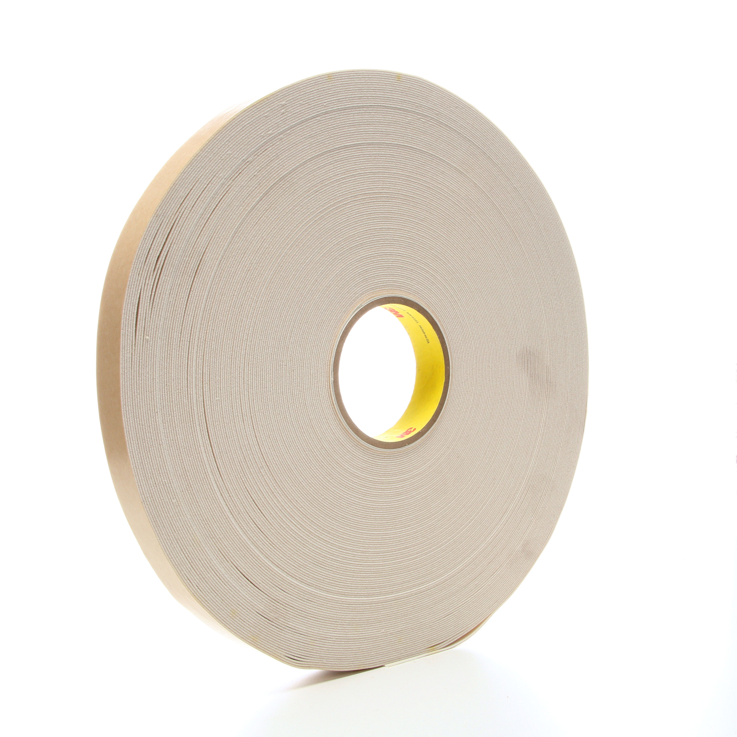 3M™ Double Coated Urethane Foam Tape 4085, Natural, 1 in x 72 yd, 45 mil, 9 rolls per case