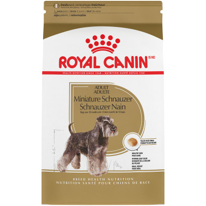 Royal Canin Breed Health Nutrition Miniature Schnauzer Adult Dry Dog Food