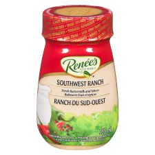 Renees Southwest Ranch Dressing, 355mL