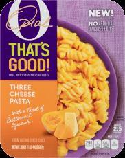 O That's Good Three Cheese Pasta 20 oz Tray