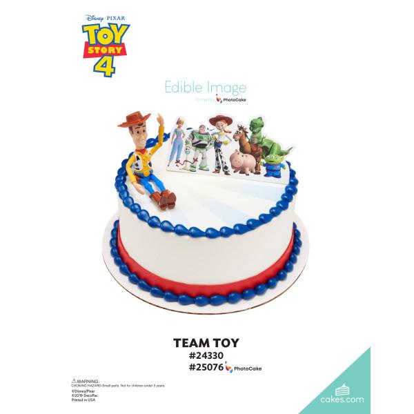 Disney/Pixar Toy Story 4 Team Toy DecoSet® The Magic of Cakes® Page