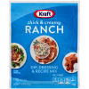 Kraft Thick & Creamy Ranch Dip, Dressing & Recipe Mix 1 oz Envelope