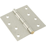 Hardware Essentials Galvanized Removable Pin Residential Door Hinges