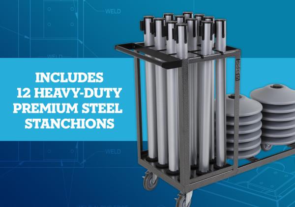 Statesman Cart Bundle - Silver Steel 7