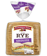 Pepperidge Farm® Jewish Seedless Rye Bread, toasted