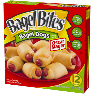 Bagel Bites Bagel Dogs Made with Oscar Mayer 12ct 7.75 oz
