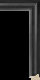 Hudson II Black 1 5/8