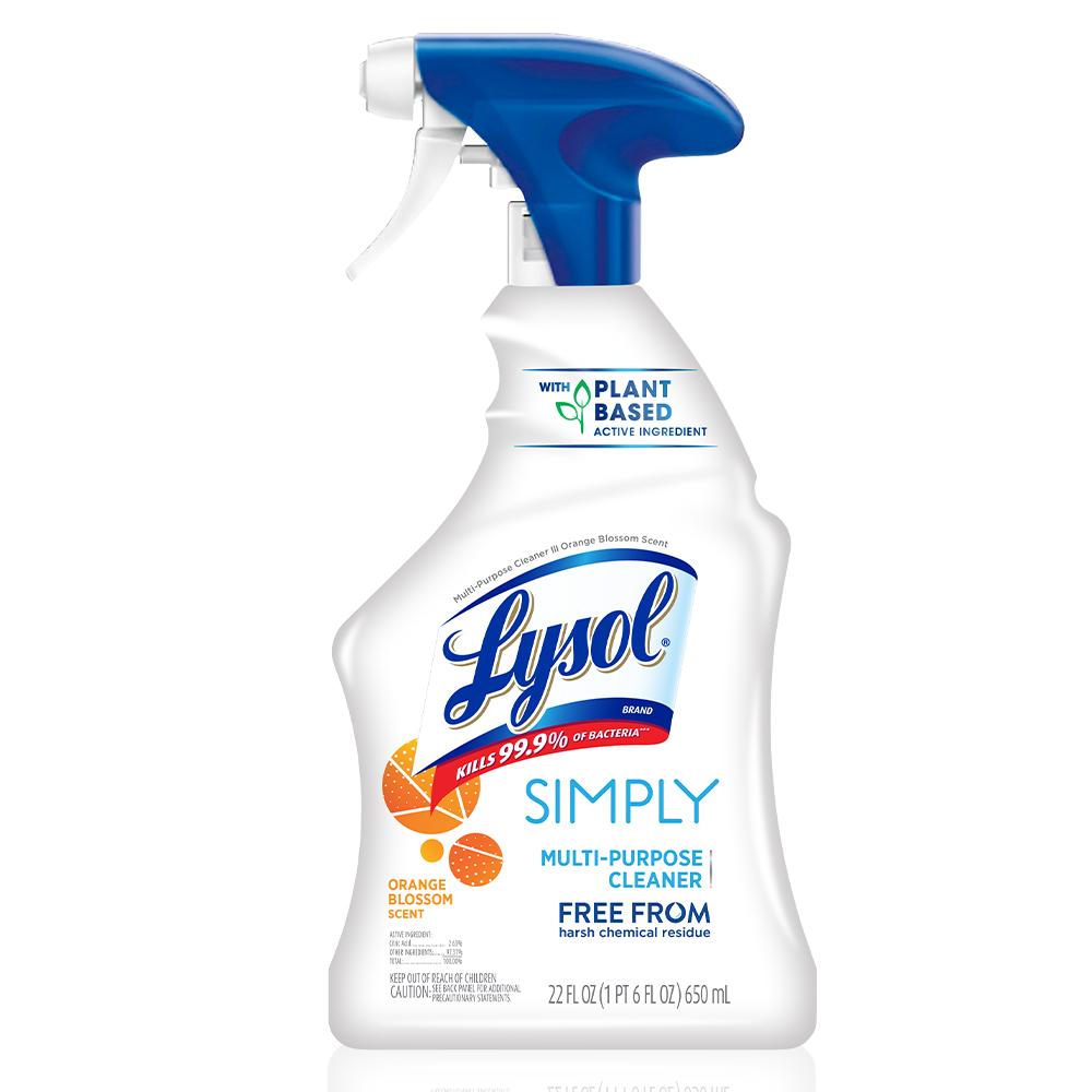 Lysol Simplay Daily CleaningSpray, 22oz, All Purpose Cleaner