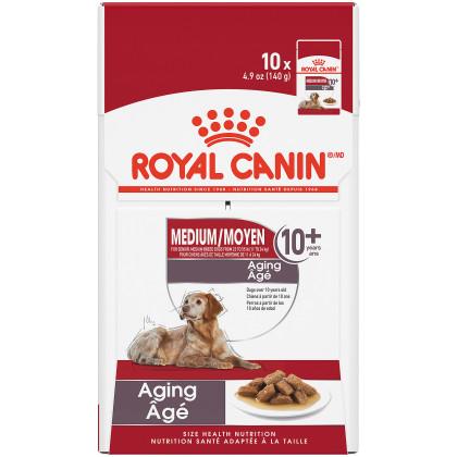 Royal Canin Size Health Nutrition Medium Aging 10+ Pouch Dog Food