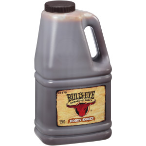 BULL'S-EYE Honey Smoked BBQ Sauce, 1 gal. Jugs (Pack of 4) image
