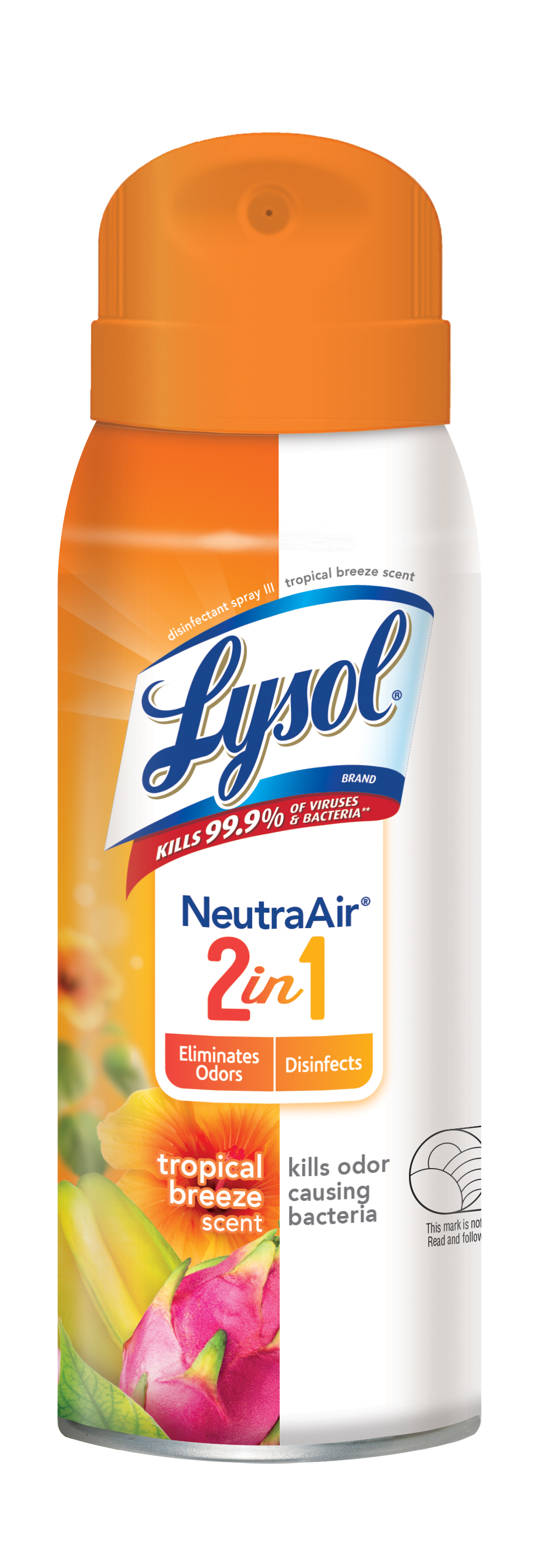 Lysol Disinfectant Spray, Neutra Air Tropical Breeze Scent 10 oz