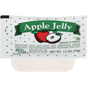 PPI Single Serve Apple Jelly, 0.5 oz Cups (Pack of 200) image