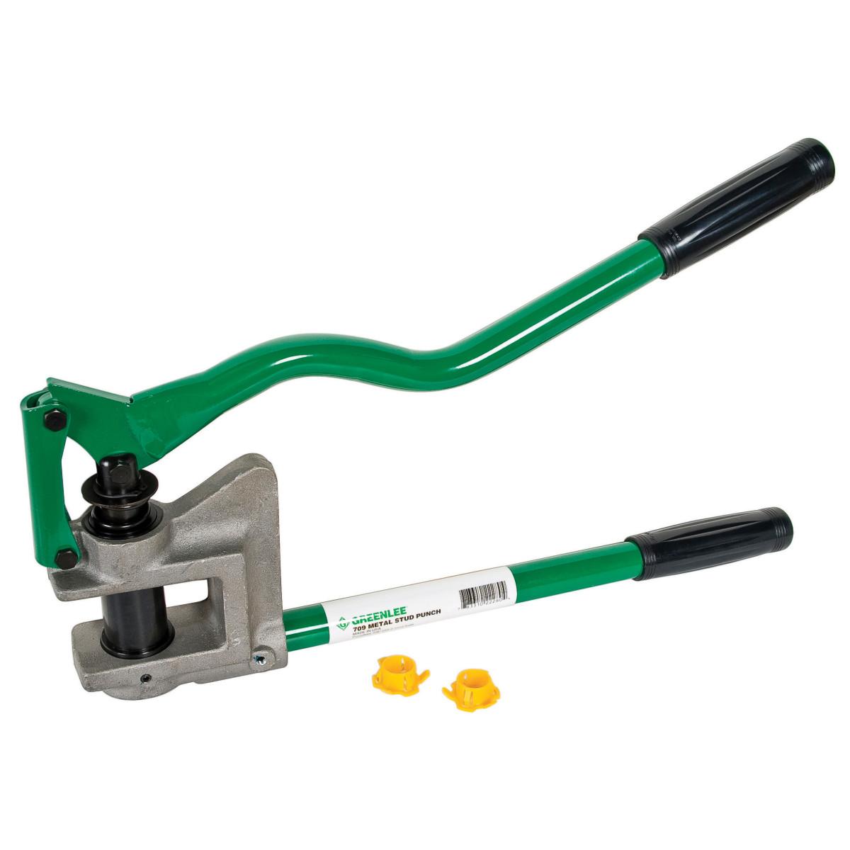 """Greenlee 709 Metal Stud Punch - 7/8"""" Diameter"""