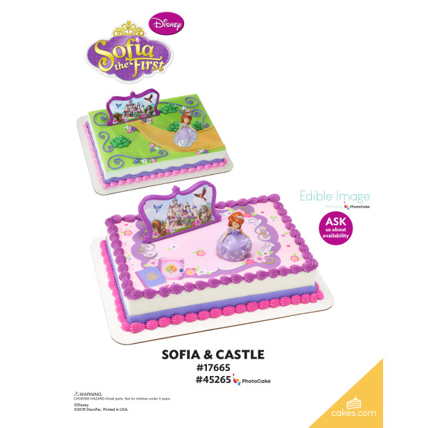 Sofia the First and Castle DecoSet® The Magic of Cakes® Page