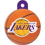 Los Angeles Lakers Large Circle Quick-Tag