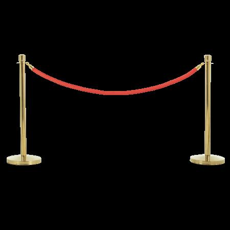 Premier Stanchion - Brass 1