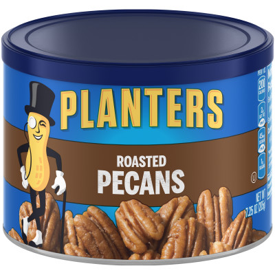 Planter Roasted Pecans 7.25 oz Canister