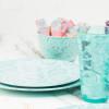 Confetti Salad Plate, Mint, 6-piece set slideshow image 7