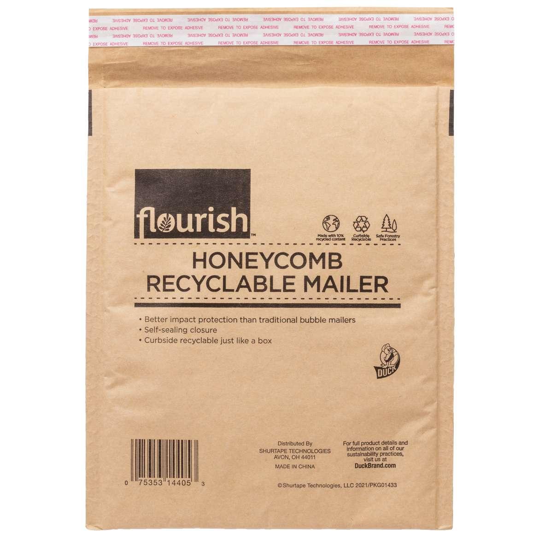 Flourish™ Honeycomb Recyclable Mailer Image